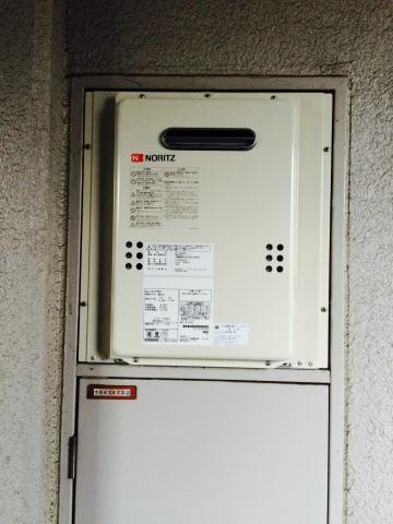 給湯器取替工事 東京都足立区 GQ-1639WS-set