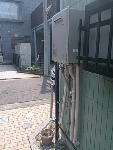 給湯器・浴室水栓(筒井) 神奈川県鎌倉市 RUF-E2405SAW-13A-set
