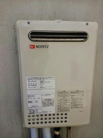 給湯器・浴室水栓取替工事(塩入) 東京都港区 GQ-2437WS-set
