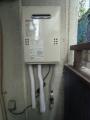 給湯器取替工事/ガス配管取替え 東京都足立区 GQ-1639WS