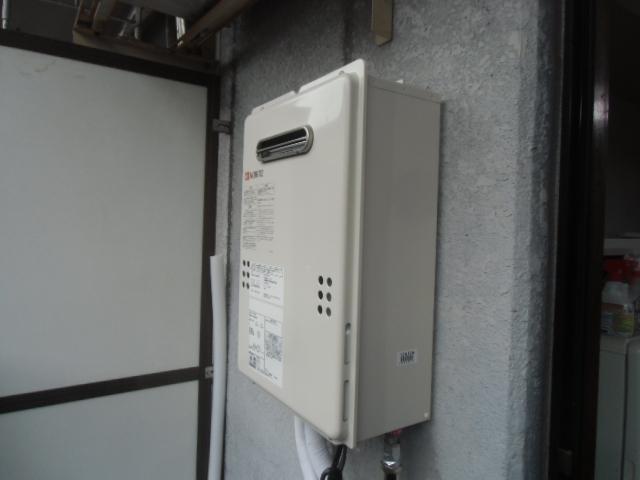 給湯器取替工事/可とう管取替 神奈川県川崎市麻生区 GQ-1639WS