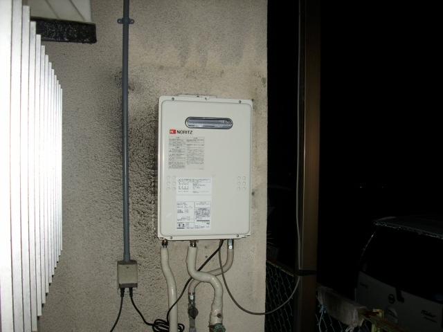 給湯器取替工事/可とう管取替え共 滋賀県大津市 GQ-1639WS