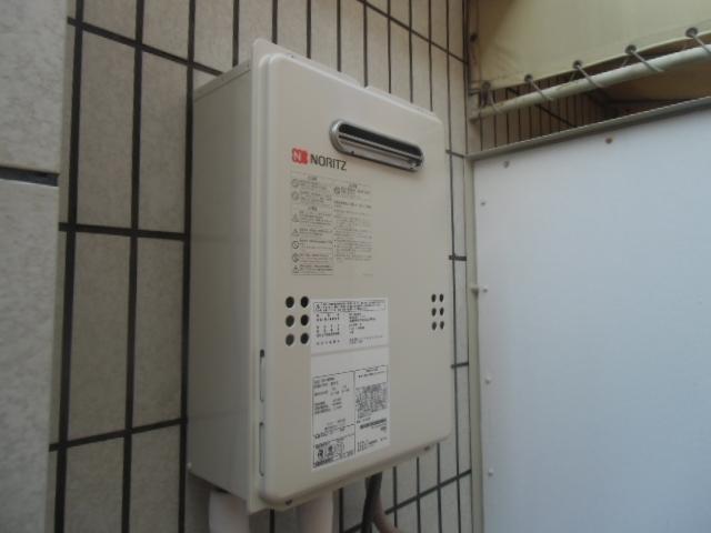 給湯器取替工事/可とう管取替え共 神奈川県横浜市保土ケ谷区 GQ-1639WS-set