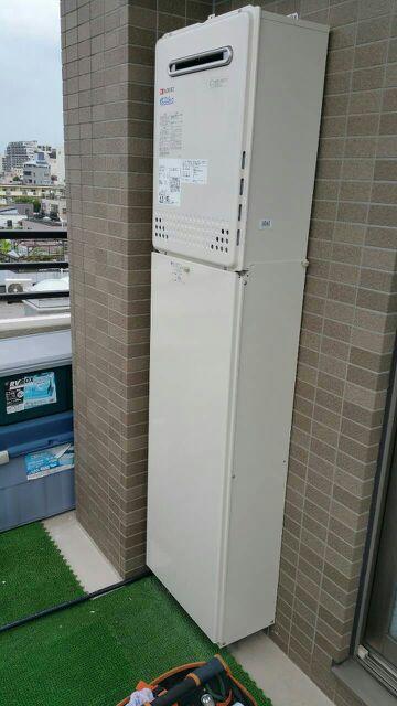 給湯器・コンロ取替工事 東京都江東区 GT-C2452SAWX2set13A
