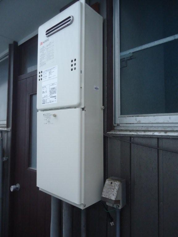 給湯器取替工事 福井県福井市 GQ-2039WS-set-LPG