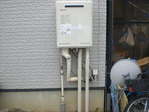 給湯器取替(電熱ヒーター・ガス配管)ビルトインコンロ取替(ガス配管取替) 長野県長野市 GT-2450SAWX-2BL-set