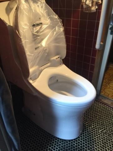 トイレ取替工事 愛知県一宮市 CES967M-NW1