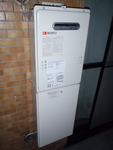ガス給湯器取替工事 神奈川県川崎市高津区 GQ-1639WS-set-13A