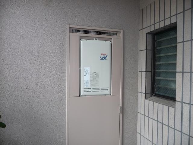 給湯器取替工事/水栓取替工事 福岡県北九州市小倉北区 RUF-VK2000SAB-L-A-13A