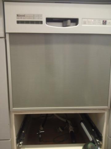 食洗機取替工事 千葉県八千代市 RKW-403A-SV-sale