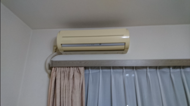 エアコン取替工事【筒井】 埼玉県草加市 XCS-286CF-W