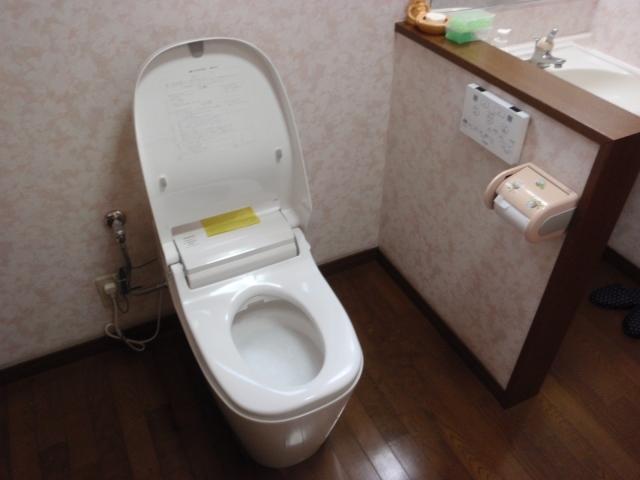 トイレ 蛇口取替工事 熊本県熊本市北区 XCH1401WS