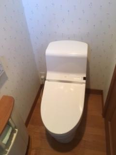 トイレ取替工事 福岡県糸島市 CES966-NW1
