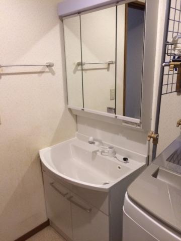 洗面化粧台 トイレ 換気扇取替工事 東京都調布市 XCH3013WST