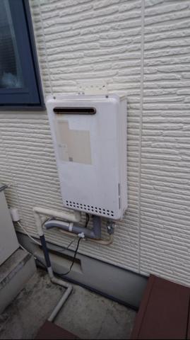 ガス給湯器取替工事 神奈川県横浜市青葉区 kouji06