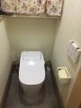 トイレ取替工事 東京都江戸川区 XCH1401WS