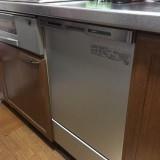 ビルトイン食洗機取替工事 広島県広島市西区 NP-45MC6T