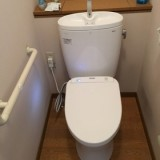 トイレ取替工事 大阪府岸和田市 TCF4831AK-NW1