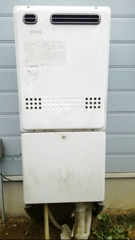 ガス給湯器取替工事 千葉県印旛郡栄町 GT-2460SAWX-BL-set-LPG