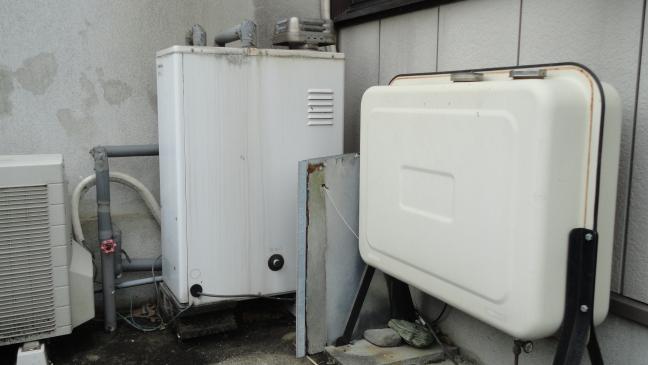 石油給湯器取替工事 徳島県吉野川市 UIB-NX37R-MD