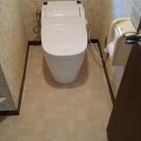 トイレ+CF取替工事 兵庫県宝塚市 XCH1101WS-sale