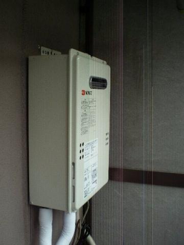 ガス給湯器取替工事 神奈川県川崎市幸区 GQ-1639WS-set-13A
