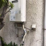 ガス給湯器取替工事 東京都品川区 GQ-1639WS-set-13A