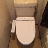 便座取替工事 東京都小金井市 TCF2221E-NW1