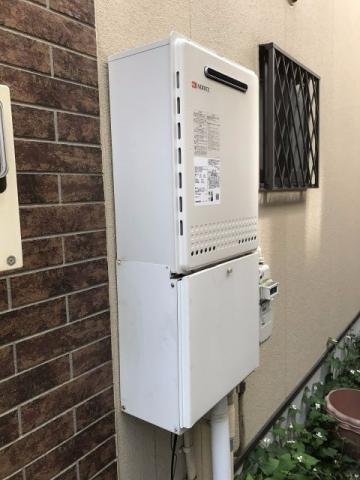 ガス給湯器取替工事 東京都多摩市 GT-2460SAWX-BL-13A