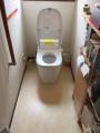 トイレ取替工事 千葉県白井市 XCH1401WS