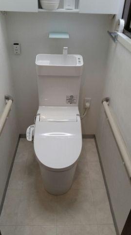 トイレ取替工事 兵庫県神戸市長田区 CH323WS