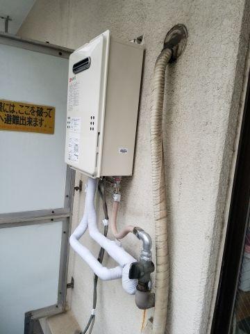 ガス給湯器取替工事 東京都豊島区 GQ-1639WS-set-13A