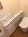 トイレ・手洗カウンター取替工事 滋賀県守山市 XCH1401WS