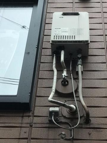 ガス給湯器取替工事 大阪府大阪市旭区 kouji06