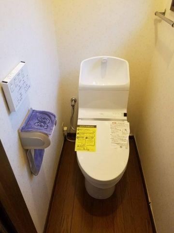 トイレ取替工事 京都府京都市左京区 CES967-NW1