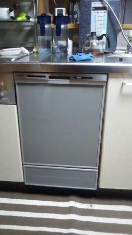 ビルトイン食洗機取替工事 香川県高松市 NP-45MD7S
