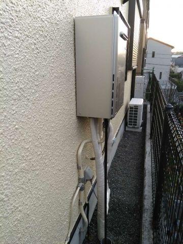 ガス給湯器 ビルトインガスコンロ取替工事 東京都八王子市 PD-810WV-60GX-13A