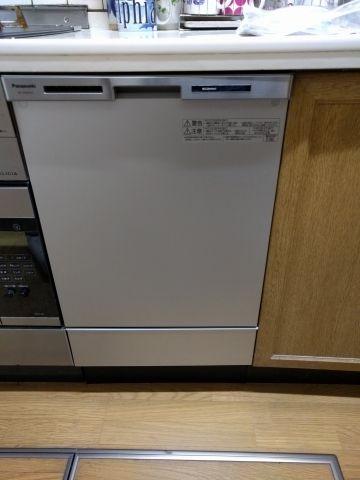 ビルトイン食洗機取替工事 茨城県つくば市 NP-45MC6T