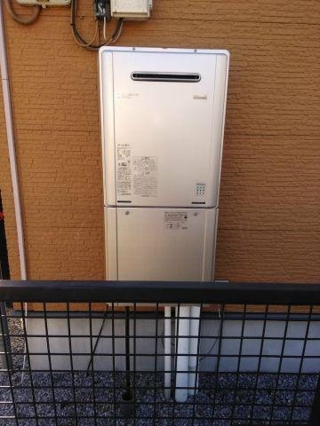 ガス給湯器取替工事 埼玉県川越市 RUF-E2405SAW-A-set-13A