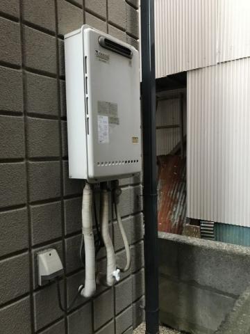 ガス給湯器取替工事 東京都葛飾区 GQ-1639WS-set-13A