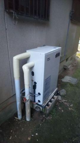 石油給湯器取替工事 奈良県宇陀市 UKB-NX460R-MD