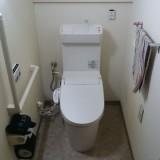トイレ取替工事 神奈川県横須賀市 XCH3013PWST