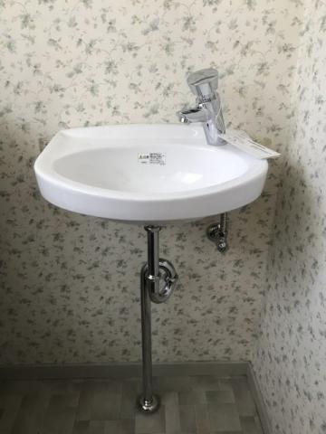 洗面化粧台取替工事 東京都八王子市 00000