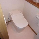 トイレ2台・CF・クロス取替工事 神奈川県藤沢市 XCH1302MRB