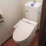 トイレ取替工事 福岡県福岡市西区 CFS367B-NW1