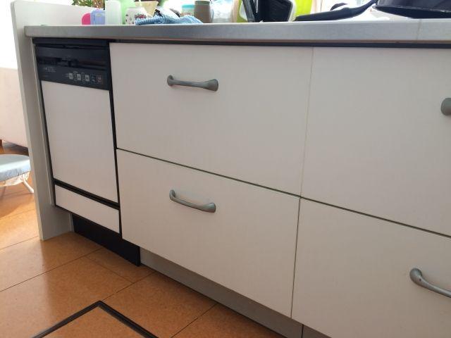 ビルトイン食洗機取替工事 長野県安曇野市 NP-45MD7S