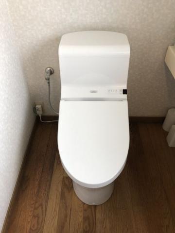 洗面化粧台 トイレ取替工事 東京都大田区 CES966M-NW1