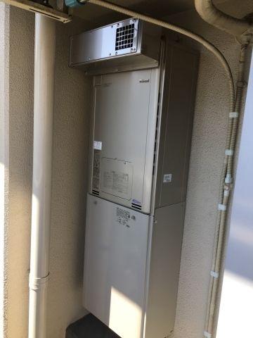 ガス給湯器 ビルトインガスコンロ取替工事 東京都北区 RUFH-E2405AW-A-set-13A
