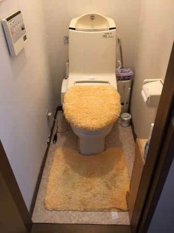 トイレ取替工事 栃木県足利市 XCH3015WST