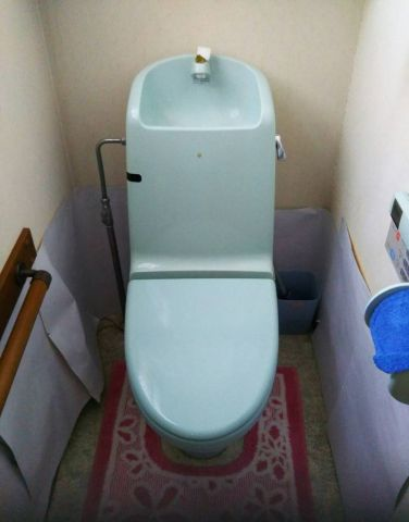 トイレ 蛇口取替工事 神奈川県川崎市多摩区 XCH1401WS
